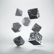 Metal Steampunk Dice Set (7)