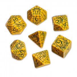 Pathfinder Serpent and Skull Dice Set (7)