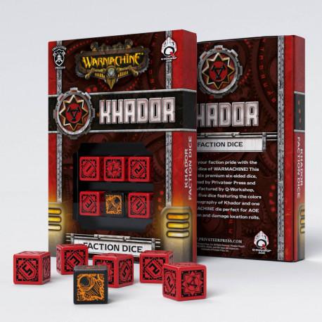 Warmachine Khador Faction D6 Dice (6)