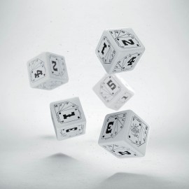 Savage Worlds & Deadlands RPG Wild Dice 5D6 (5)