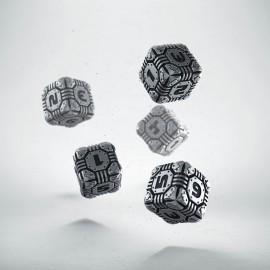 Metal Tech 5D6 Dice (5)