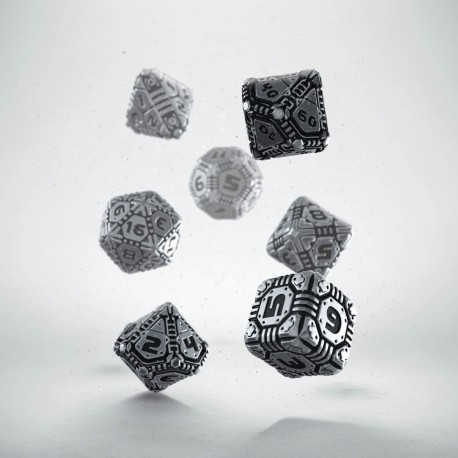 Kości RPG Metalowe Tech (7)