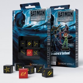 Kości K6 Batman Miniature Game - Joker Set (6)