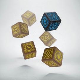 Kości K6 Shadowrun Decker (6)