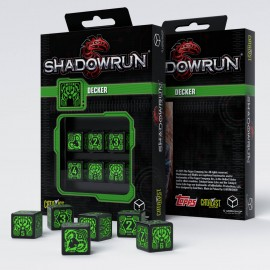 Shadowrun Spellcaster D6 Dice (6)