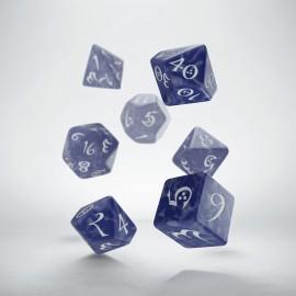 Kości RPG Klasyczne Perłowo-czerwone (7)