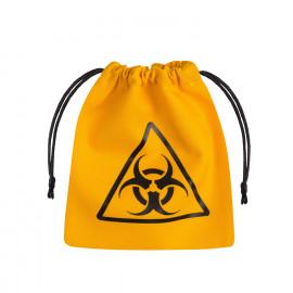Sakiewka Biohazard Żółto-czarna