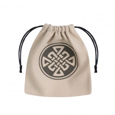 Celtic Beige & black Dice Bag