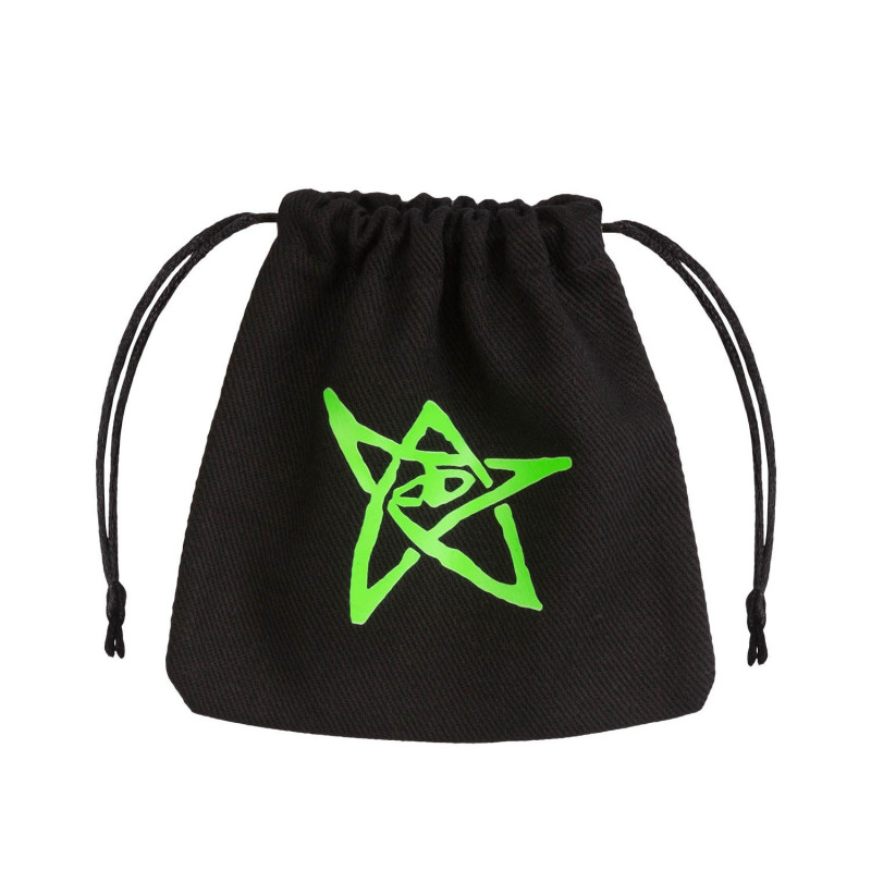 Call Of Cthulhu Black Green Dice Bag