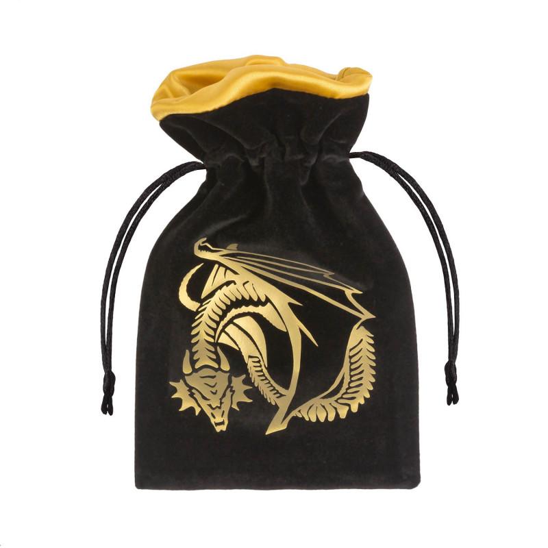 Burgundy /& Gold Bag Bravery Dice Bag Dungeons and Dragons Dice Bag Magic: The Gathering Dice Bag Wizard World Pathfinder Dice Bag