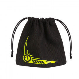 Galactic Black & yellow Dice Bag