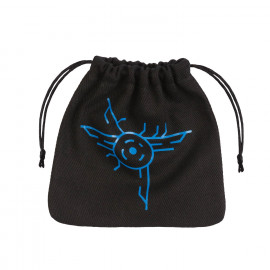 Galactic Black & blue Dice Bag