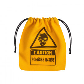 Zombie Yellow & black Dice Bag