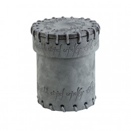 Elvish Graphite Suede Dice Cup