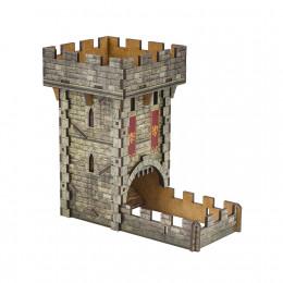 Wieża do kości kolorowa Średniowieczna