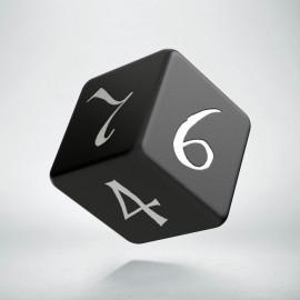 D6 Classic Black & white Die (1)