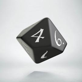 D10 Classic Black & white Die (1)