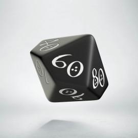 D100 Classic Black & white Die (1)