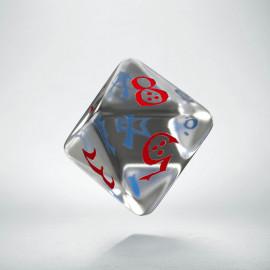 K8 Klasyczna Przejrzysto-niebiesko-czerwona