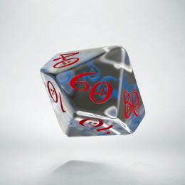 K100 Klasyczna Przejrzysto-niebiesko-czerwona (1)