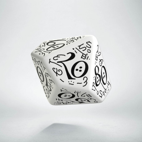 K100 Elficka Biało-czarna