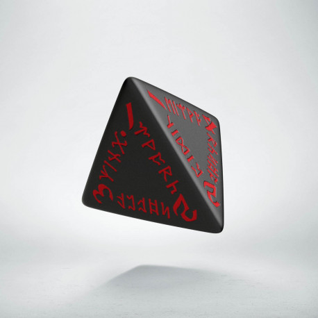 K4 Runiczna Czarno-czerwona