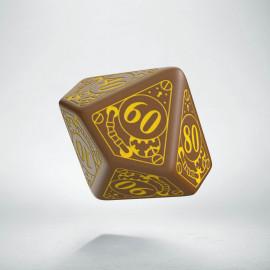 K100 Steampunk Brązowo-żółta