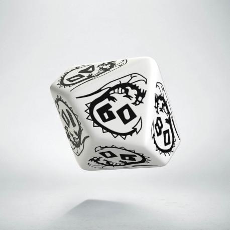 K100 Smocza Biało-czarna