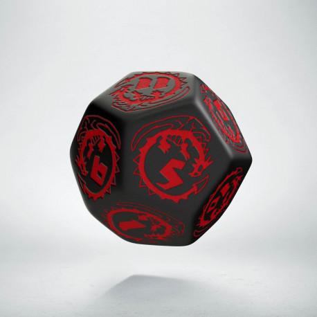 K12 Smocza Czarno-czerwona