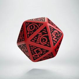 K20 Celtycka 3D Czerwono-czarna