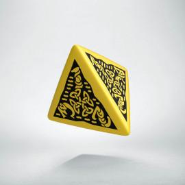 K4 Celtycka 3D Żółto-czarna