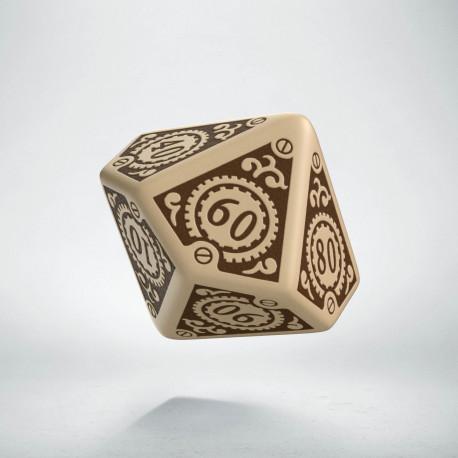 K100 Steampunk Clockwork Beżowo-brązowa