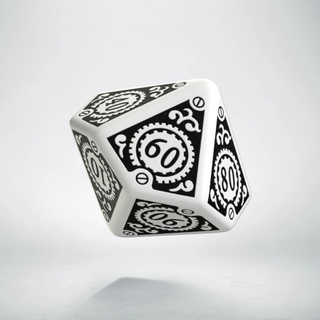 K100 Steampunk Clockwork Biało-czarna