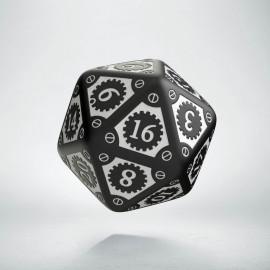K20 Steampunk Clockwork Czarno-biała (1)