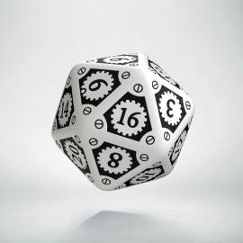K20 Steampunk Clockwork Biało-czarna