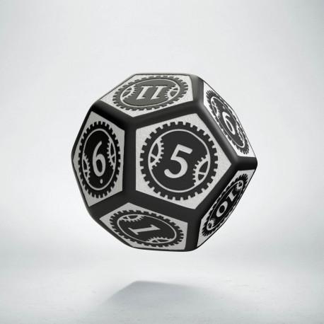 K12 Steampunk Clockwork Czarno-biała
