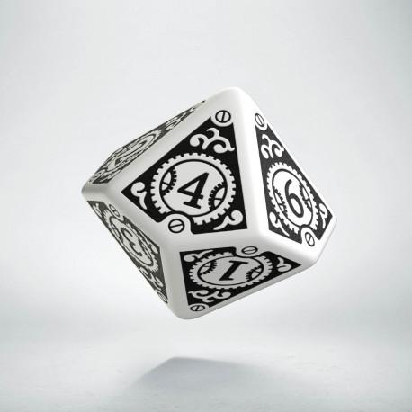 K10 Steampunk Clockwork Biało-czarna