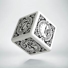 K6 Steampunk Clockwork Biało-czarna