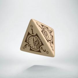 K4 Steampunk Clockwork Beżowo-brązowa