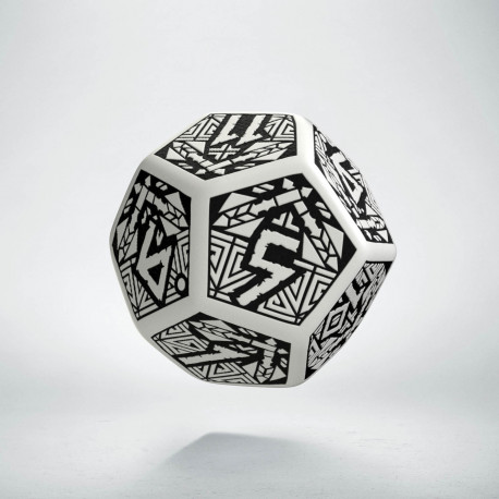 K12 Krasnoludzka Biało-czarna