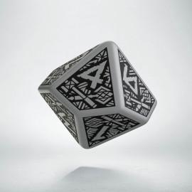 D10 Dwarven Gray & black Die (1)