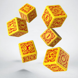 Battletech House Davion D6 Dice (6)