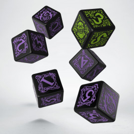 Hordes Legion of Everblight D6 Dice (6)
