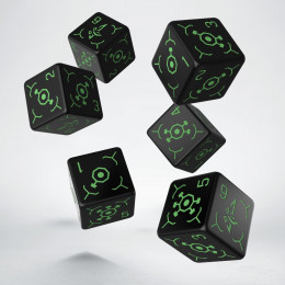 Ingress Enlightened 6D6 Dice (6)