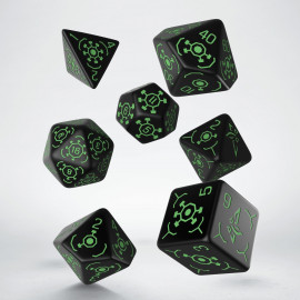 Ingress Enlightened Dice Set (7)
