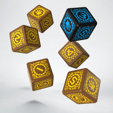 Iron Kingdoms D6 Dice (6)
