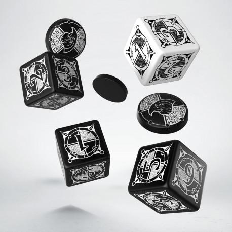 Zestaw Kingsburg Czarno-biały - K6 i tokeny (4+3)