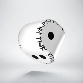 D2 Runic White & black Die (1)