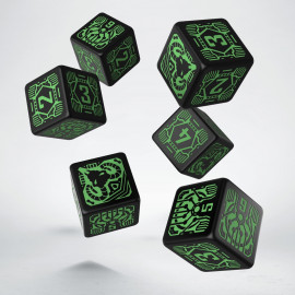 Shadowrun Decker D6 Dice (6)