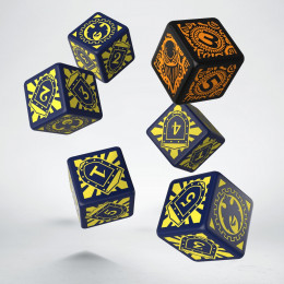 Warmachine Cygnar Faction D6 Dice (6)